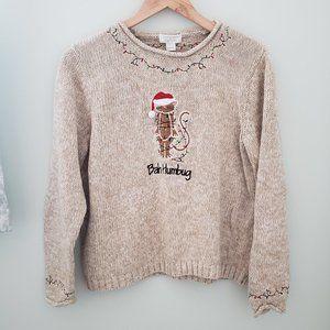 Bah Humbug Ugly Christmas sweater